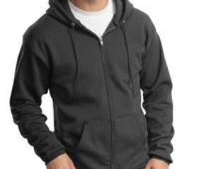 EPPC90ZH Port & Company® - Essential Fleece Full-Zip Hooded Sweatshirt.