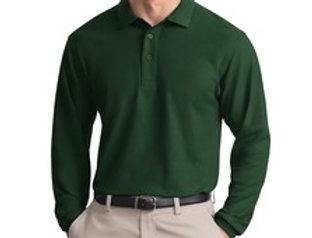 EPK500LS Port Authority® Long Sleeve Silk Touch™ Polo.