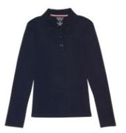 9424 Girls long sleeve polo (set of 4)