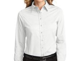 EPL608 Port Authority® Ladies Long Sleeve Easy Care Shirt