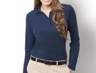 EPL500LS Port Authority® Ladies Long Sleeve Silk Touch™ Polo