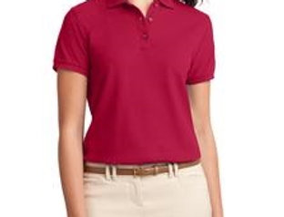 EPL500 Port Authority® Ladies Silk Touch™ Polo.