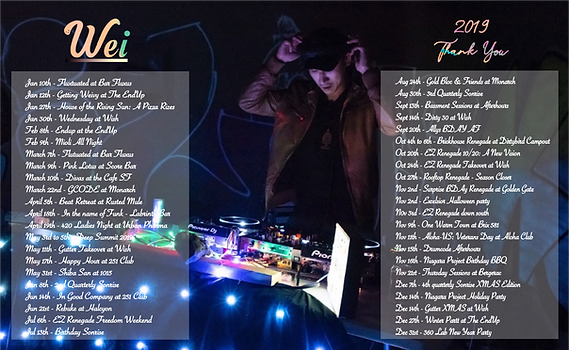 Wei 2019 DJ Shows.png