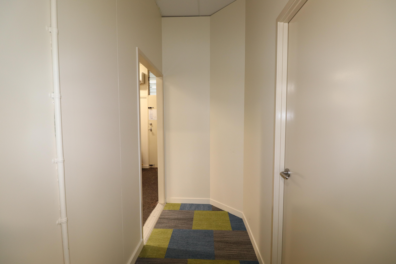 hall way in school