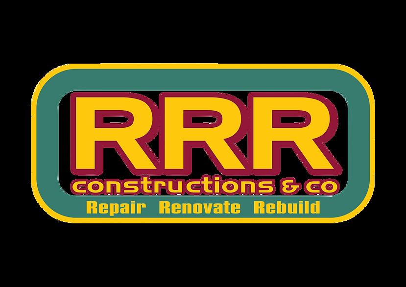 RRR constructions townsville logo