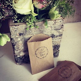 wedding party favours alternative vintage seeds