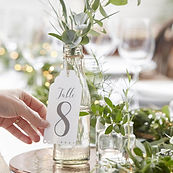 ginger ray vintage wedding hire table number