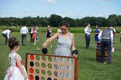 vintage wedding hire outdoor party games giant connect 4