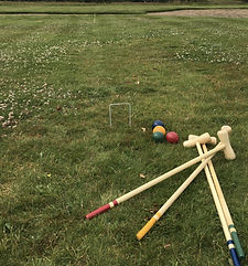 vintage wedding hire outdoor party games traditional croquet