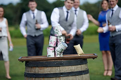 vintage wedding hire outdoor party games tin can alley