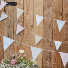ginger ray floral print bunting