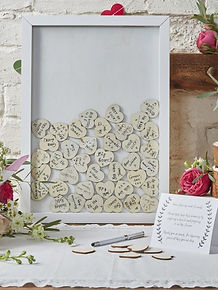 hire and buy your wedding guestbook for your vintage or rustic wedding or party
