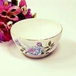 vintage wedding hire china afternoon tea party set sugar bowl