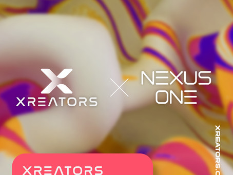 [Press] Social creator NFT market XREATORS has raised $2 million investment from Nexus One (ENG)