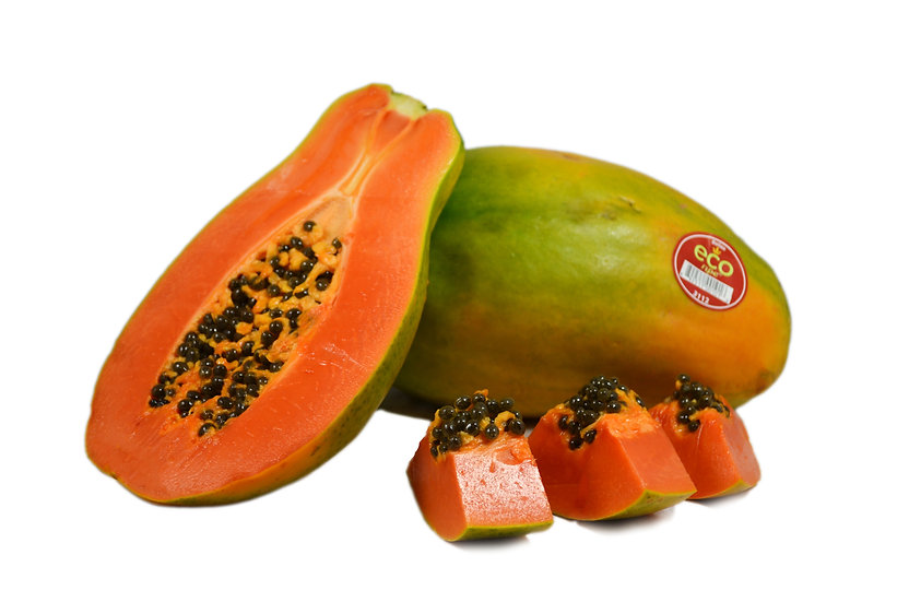 Tropical Red Papaya