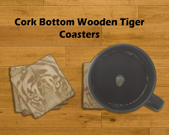 Tiger Eyes Coasters