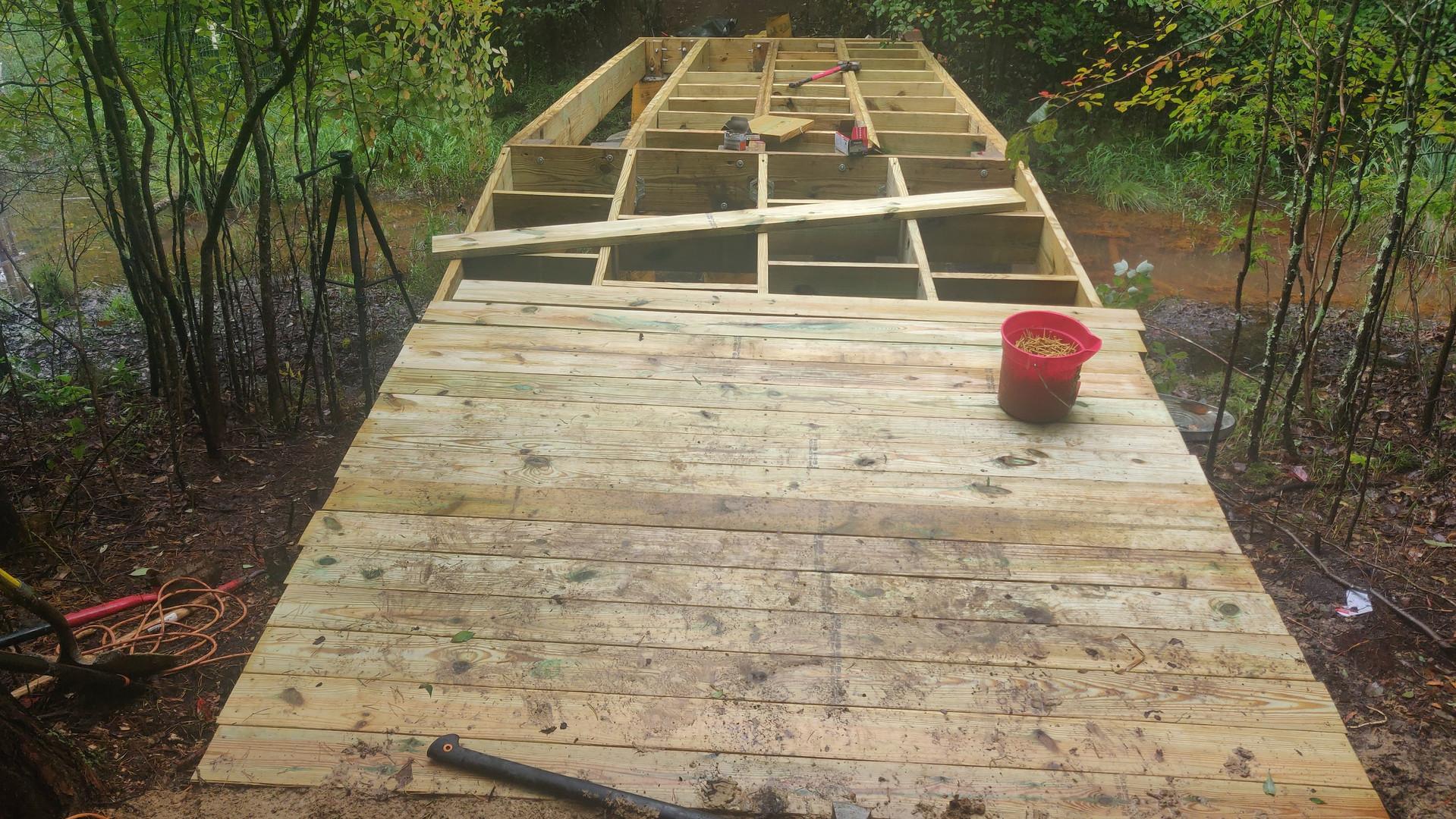 custom bridge build