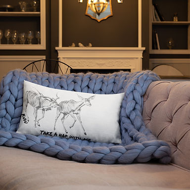 Kudu/Rhino Nap Time Pillow