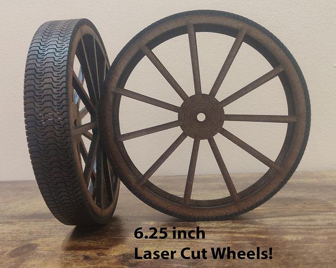 Wheels with hard Tread
