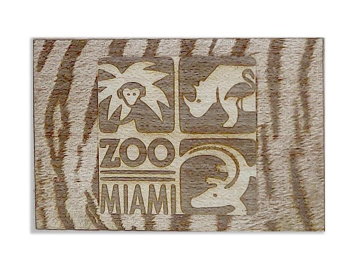 Zoo Miami Logo w/ Tiger Surround