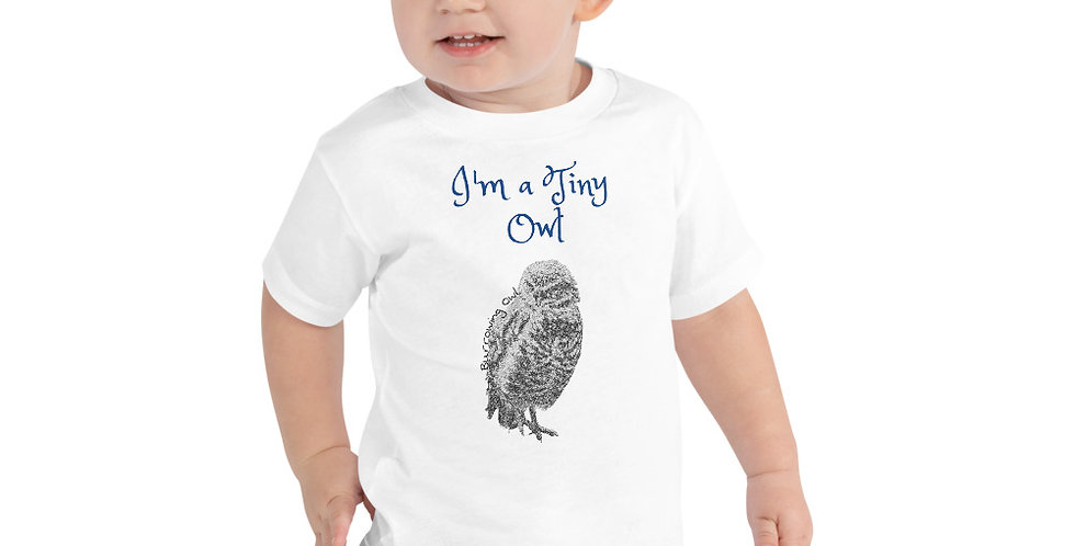 I'm a little Owl Toddler Short Sleeve Tee