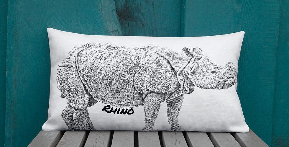 Premium Rhino Pillow