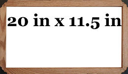 16:9 (20 in x 11.5 in) Frame