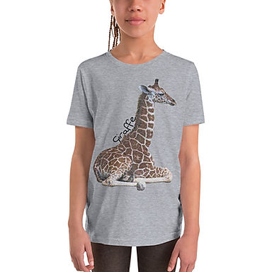 Baby Giraffe Youth Short Sleeve T-Shirt