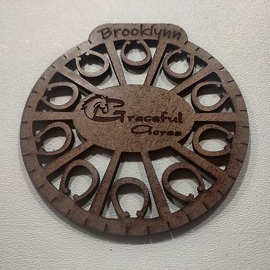 Personalised Horseshoe Coasters