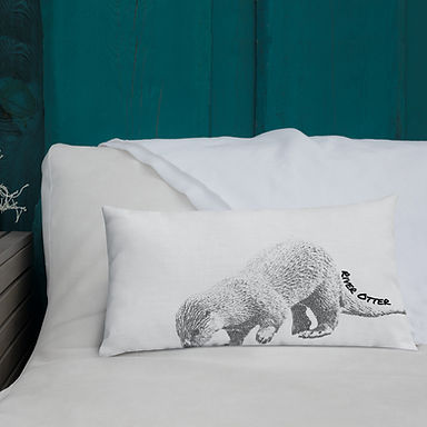Premium River Otter Pillow
