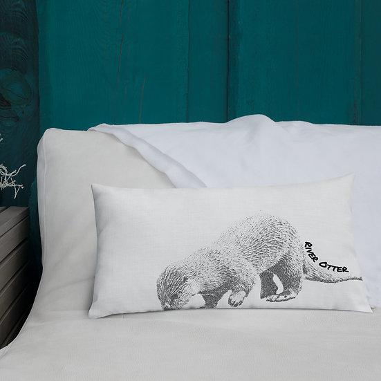 Premium River Otter Pillow