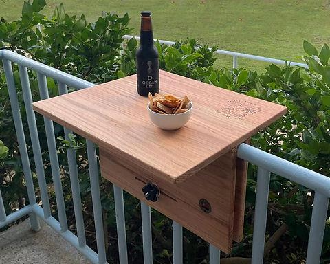 Railing Bar Table