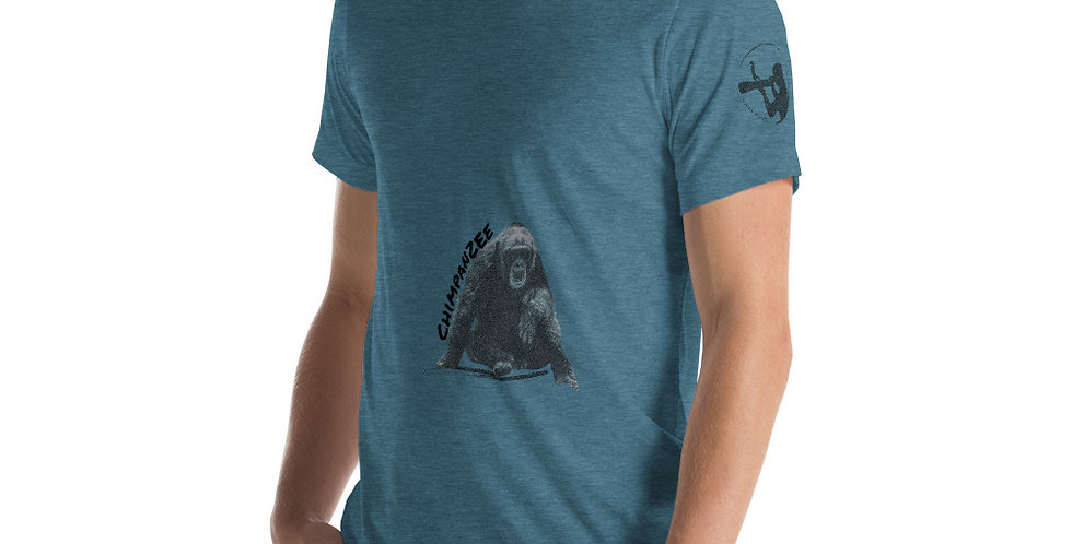 Pondering Chimpanzee Unisex T-Shirt