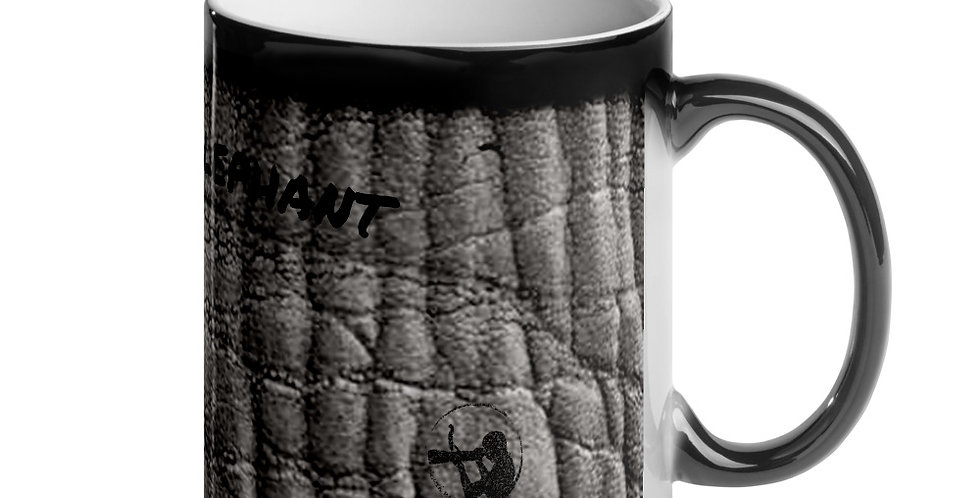 Elephant Trunk Glossy Magic Mug