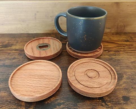 Modern Round Coasters