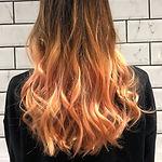 Peach hair Brighton