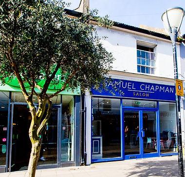 Samuel Chapman hair salon Hove
