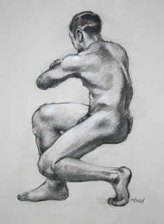 Seated Male Back