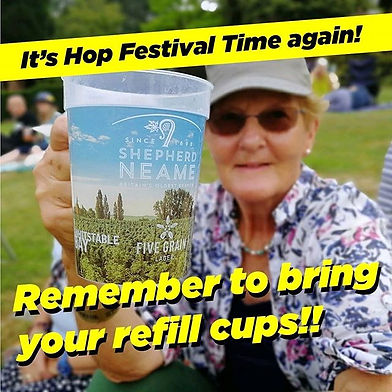 It's Hop Festival Time soon!! Hooray!!!⠀