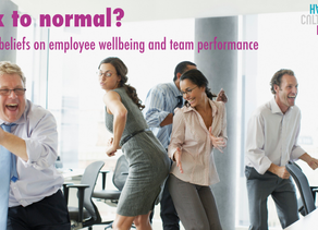Hacking beliefs on employee wellbeing and team performance.