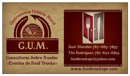 Who is Food Trucks PR | Gastronomia Urbana Movil | GUMPR