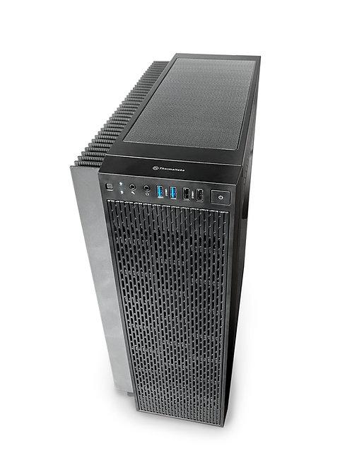 Корпус компьютера с теплоотводом для процессора