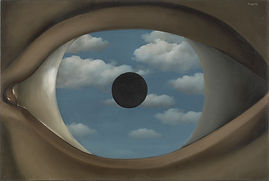 Ethics of AI and algorithms workshop, seminar and supervision | Image: Magritte The False Mirror