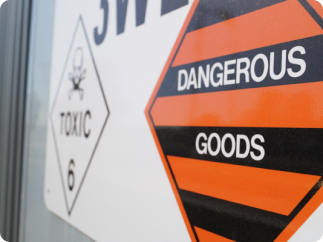 QF National dangerous goods freight company, dangerous goods courier, QF National courier freight company