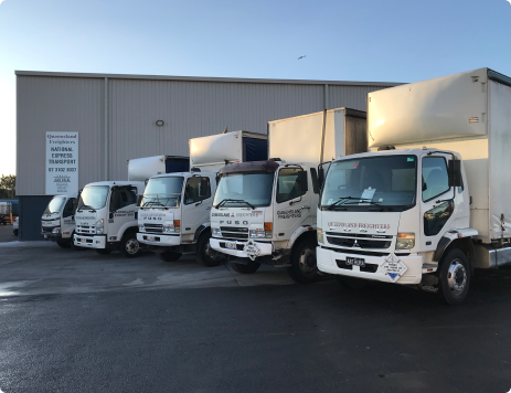 QF National interstate express freight and dangerous goods service