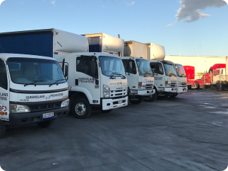 QF National express courier and freight services - dangerous goods transport company, freight company, interstate freight company, transport company australia