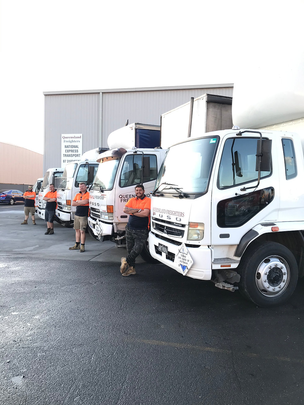 Queensland Freighters - General and Express Pallet Freight Service. B2B and B2C Delivery & Courier Freight Across Australia