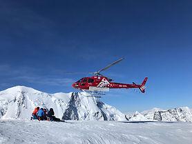Air Zermatt im Anflug