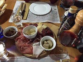 Essen im Gourmetrestaurant