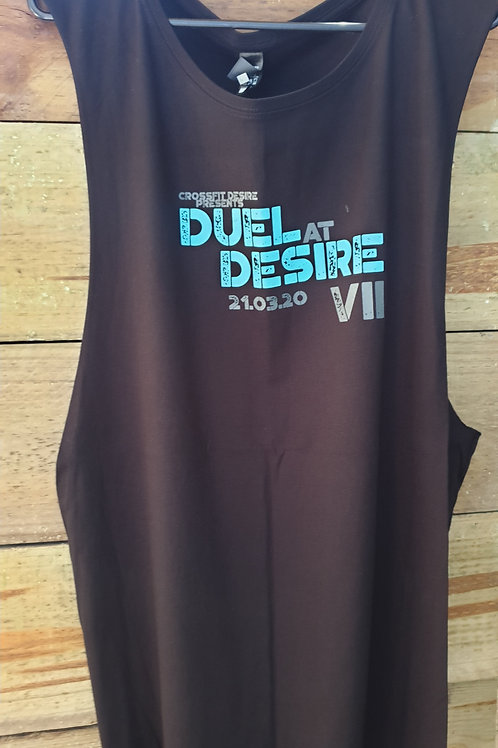 DUEL AT DESIRE UNISEX Muscle Tee